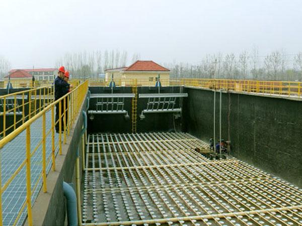 吉利污水处理厂二期安装工程