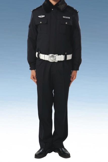 Traffic patrol police winter service uniform (male)