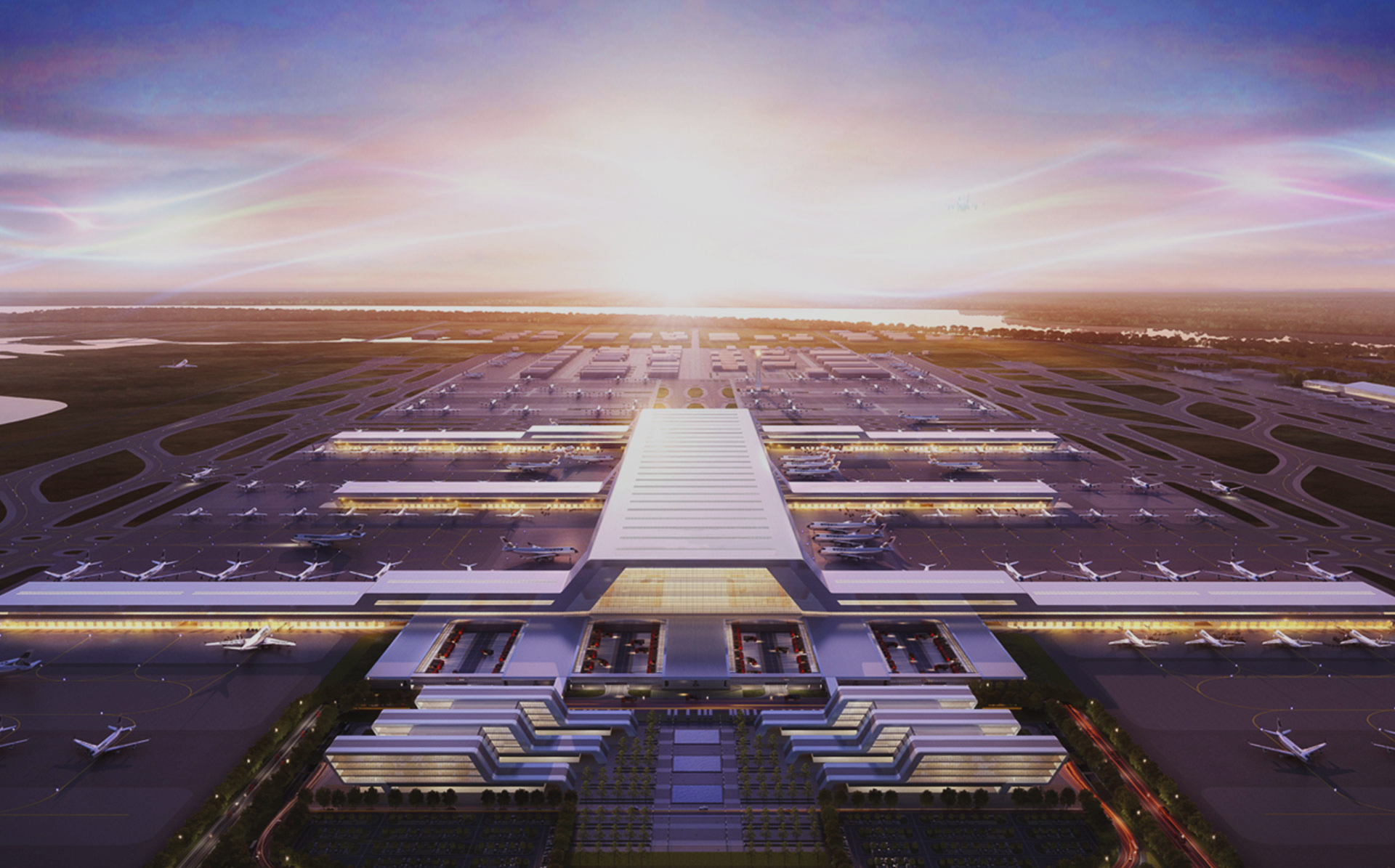 湖北鄂州民用機場工程項目管理系統