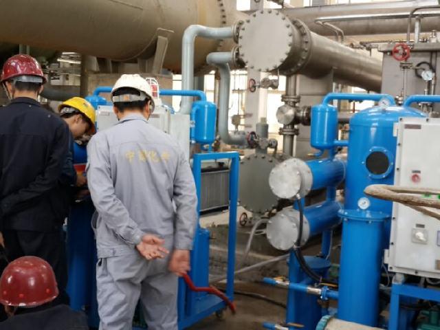 璽寶濾油機與內蒙古包鋼慶華煤化工公司合作成功