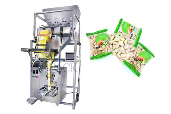 食品包装机 颗粒 膨化 炒货 瓜子 谷类休闲食品包装机