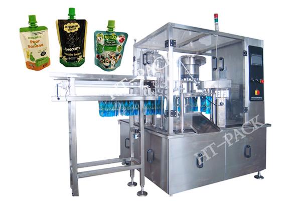 液体包装机 全自动自立袋液体灌装机 吸嘴果冻包装机