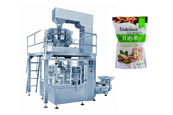 坚果、脆冬枣食品颗粒包装机 全自动给袋式颗粒包装机