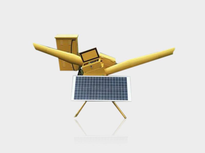 無線遙控/程控太陽能驅鳥煤氣炮