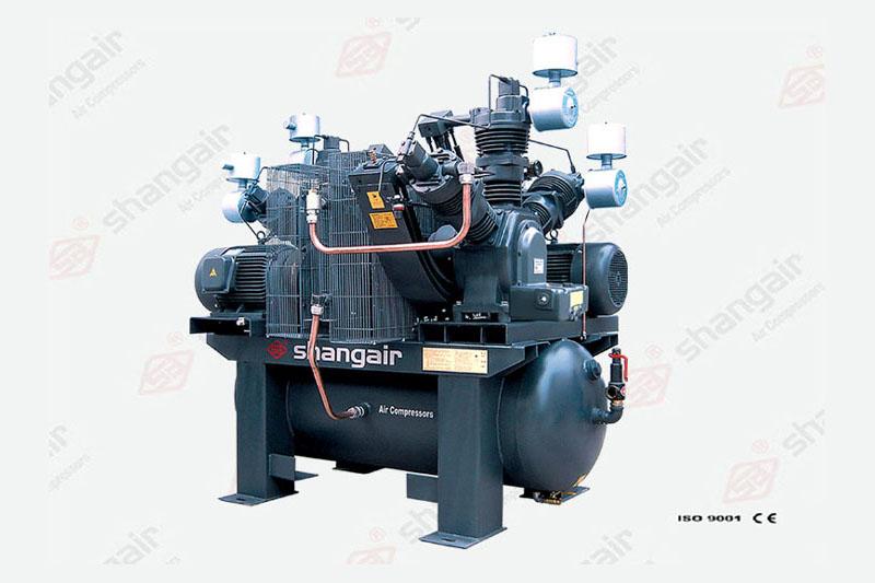 10WW系列無油空壓機(雙機)