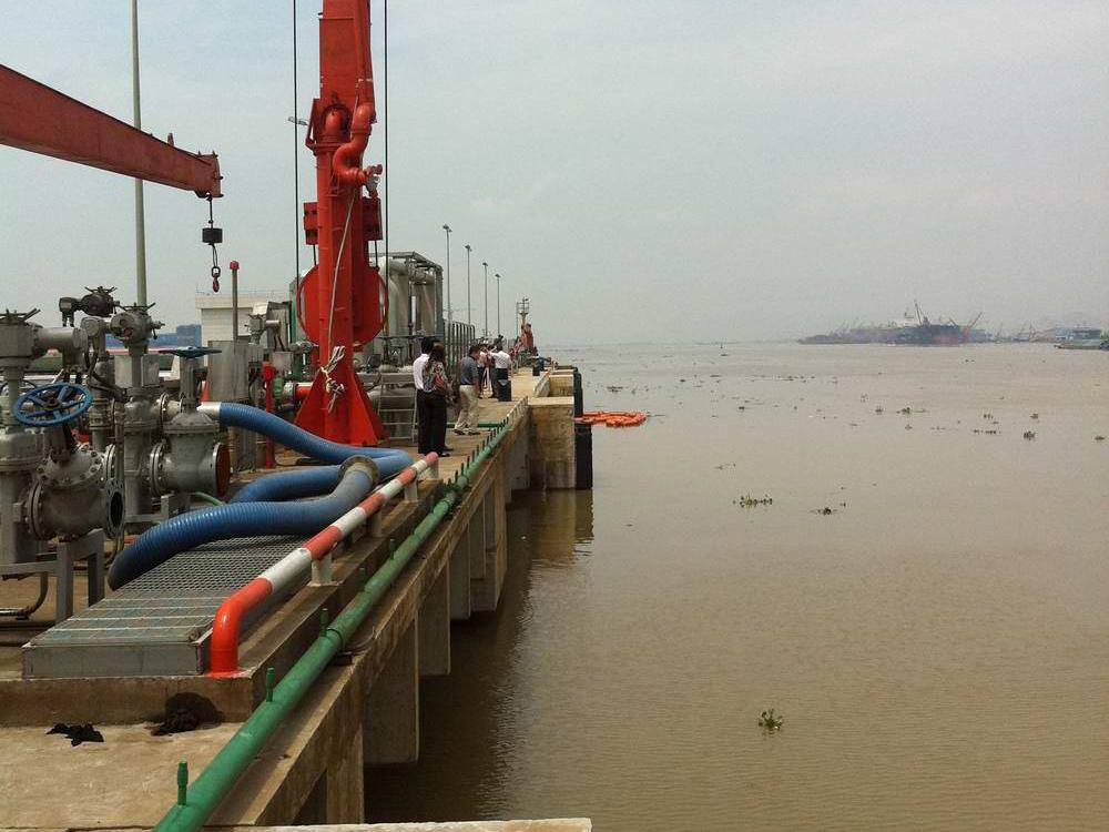 珠海市鬥門龍基碼頭改造工程