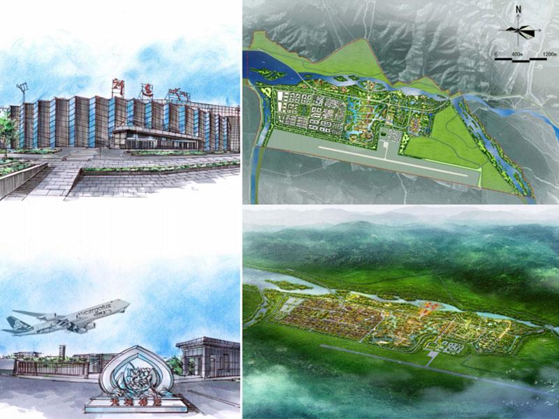 祁连县空港旅游生态产业园城市设计