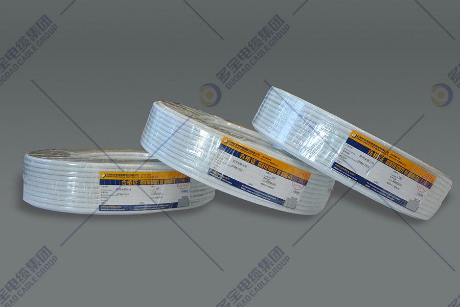 有線電視係統物理發泡聚乙烯絕緣聚氯乙烯護套同軸電纜
