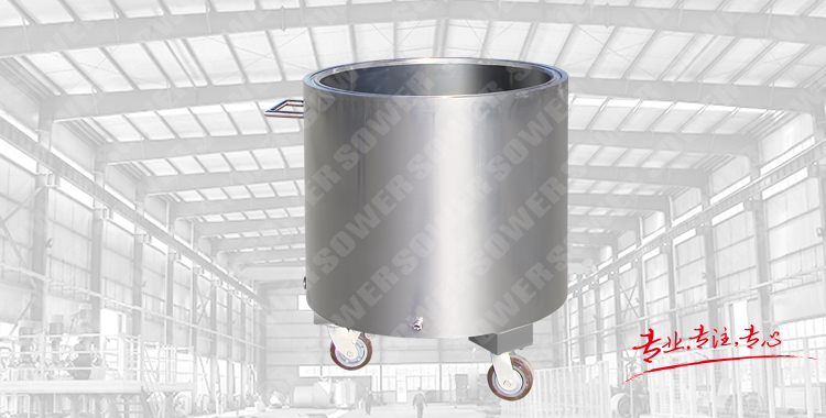 Stainless steel drawing cylinder