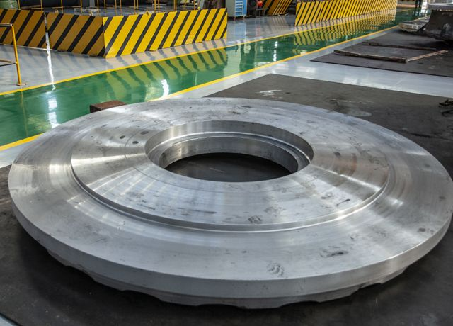 與南高齒集團長期戰略合作提供水泥機械鑄鋼件