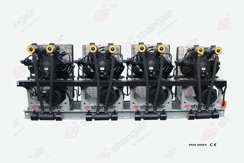 09SH系列空氣壓縮機(立式四機)