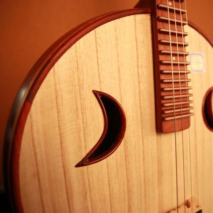 乐海中阮乐器徐阳签名阮族赞比亚紫檀木专业演奏中阮琴 5119Z-AA