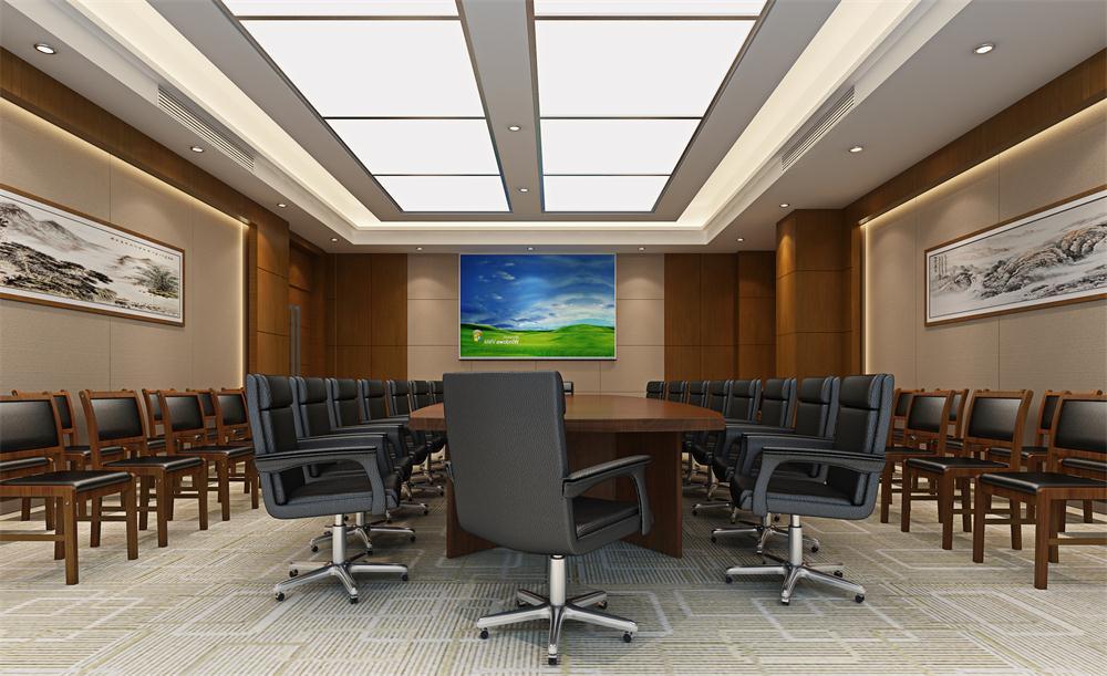 某保密企业会议空间