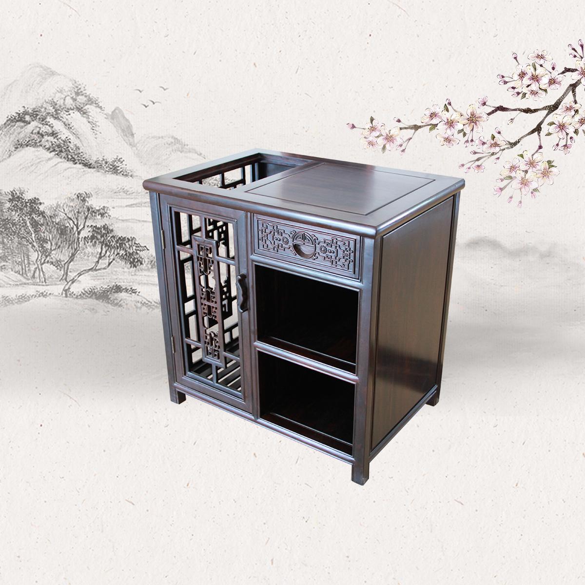 格子轩茶水柜