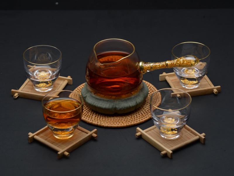 郁金香茶具套装(1壶4杯)