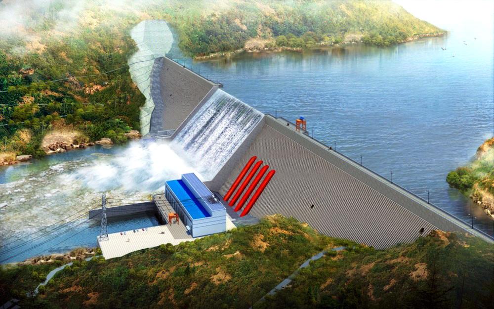 几内亚.苏阿皮蒂水电站