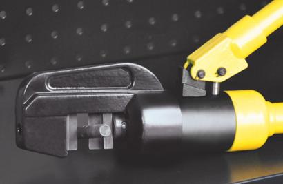 液压钳是专用于电力工程中对电缆和接线端子进行