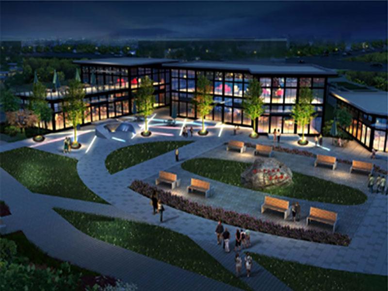汉中市燕子河景观方案设计