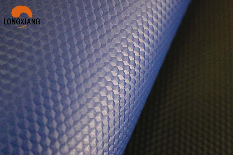 Printed synthetic leather