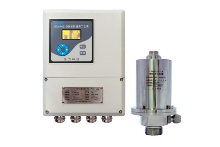 CD6102气体流量纯度分析仪