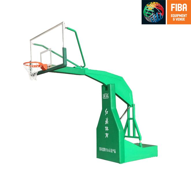 HQ-F1005 平箱移动篮球架 FIBA认证