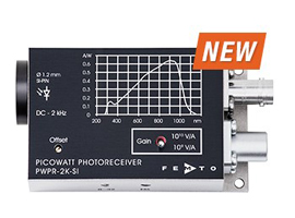 PWPR-2K系列皮瓦光电探测器