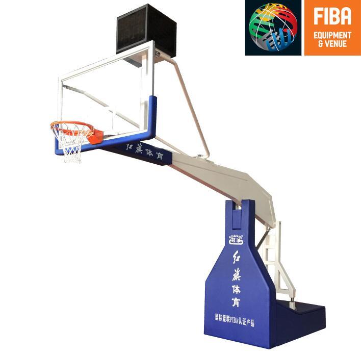 HQ-F10000电动液压篮球架 FIBA认证
