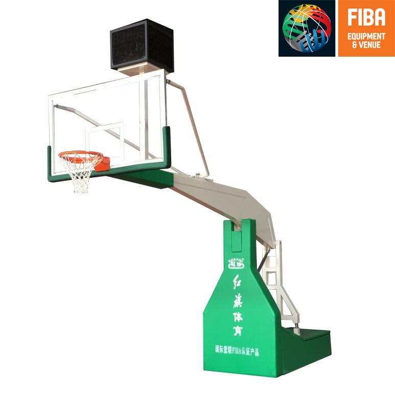 HQ-F10002 电动液压篮球架