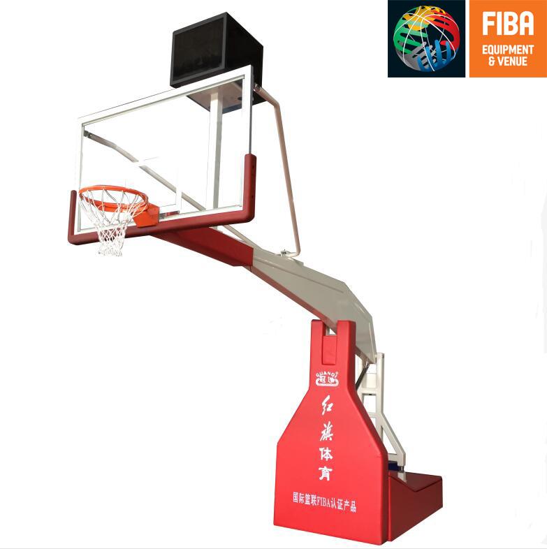 HQ-F10001手动液压篮球架 FIBA认证